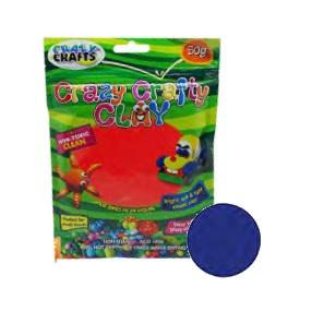 Crazy Crafty Clay 50g - Royal Blue