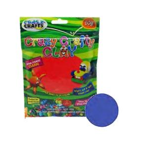 Crazy Crafty Clay 50g - Turq