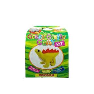 Crazy Crafty Clay - Kit Dinosaur