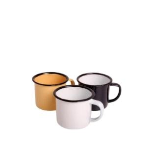 Enamel - Mug Asst 6cm