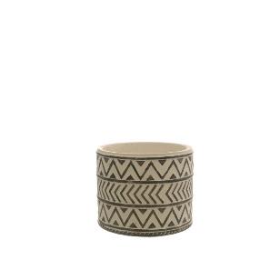 Cement - Nico Small Pot 115x110mm