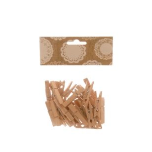 Pegs Large Natural 4.5cm 30pc