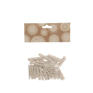 Pegs Large White 4.5cm 30pc