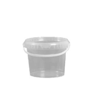 2.5L Clear AlphaPac Bucket & Lid