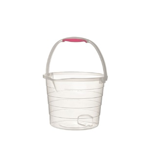 13L Cleaning Bucket Clear Step